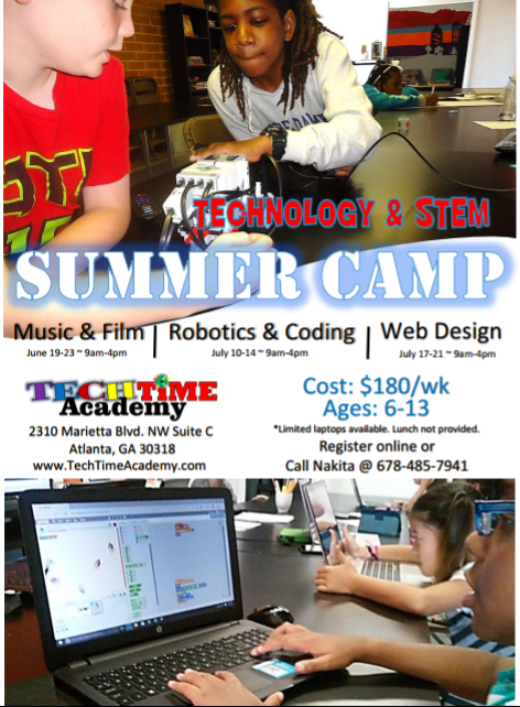 Summer Tech Camp 2017